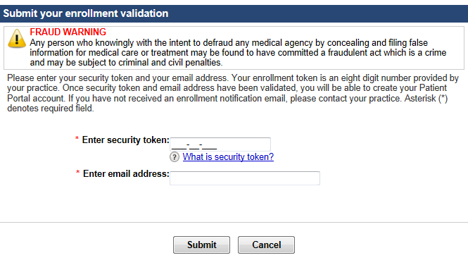 OSC Enrollment validation image