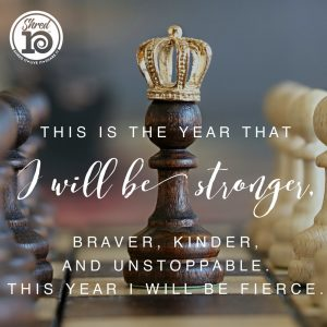 Be Stronger in 2018