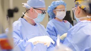 Dr. Jeff Carlson in Spine Surgery