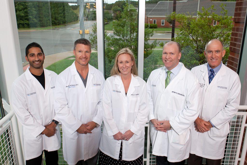 Image of Drs. Sureja, McFarland, Andrus, Carlson, & Haynes