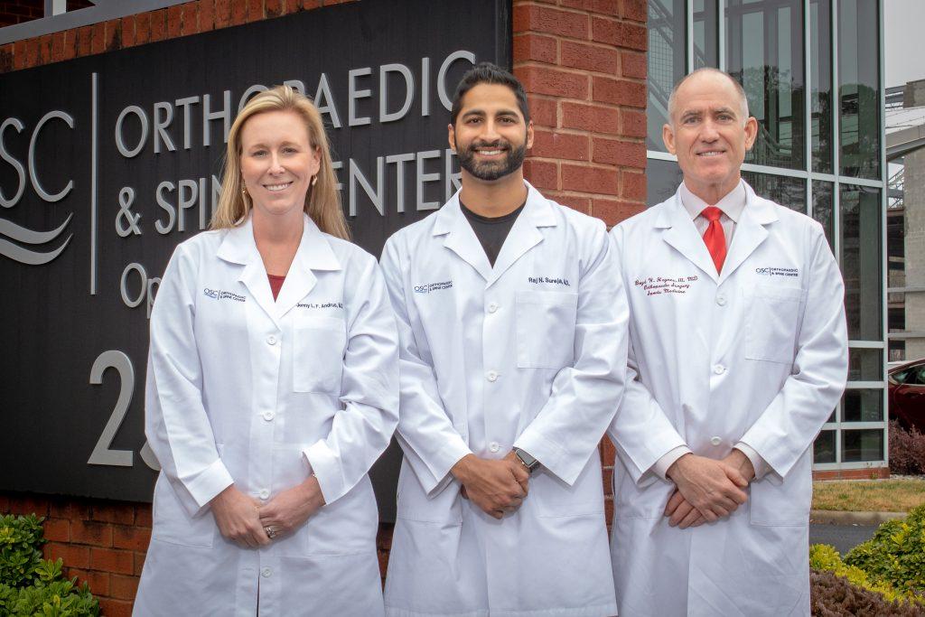 Image of Drs. Andrus, Sureja and Haynes